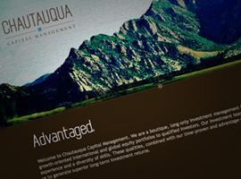 Chautauqua Financial Management Website Website.