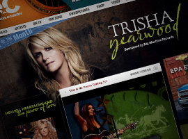 Trisha Yearwood Artist Of The Month.